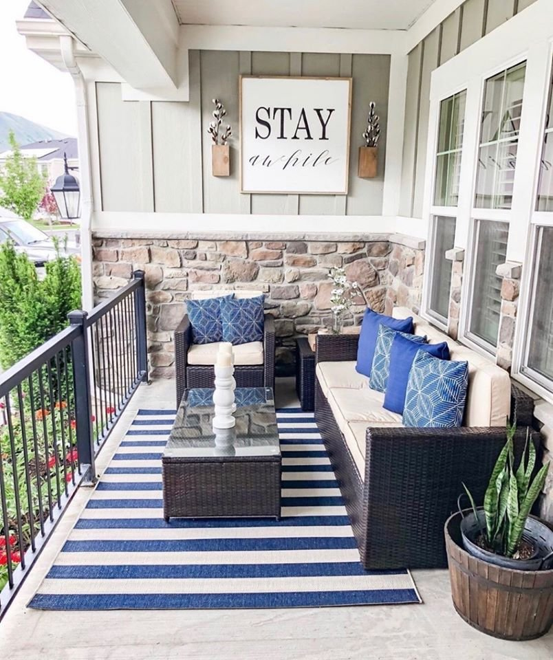 Front porch furniture