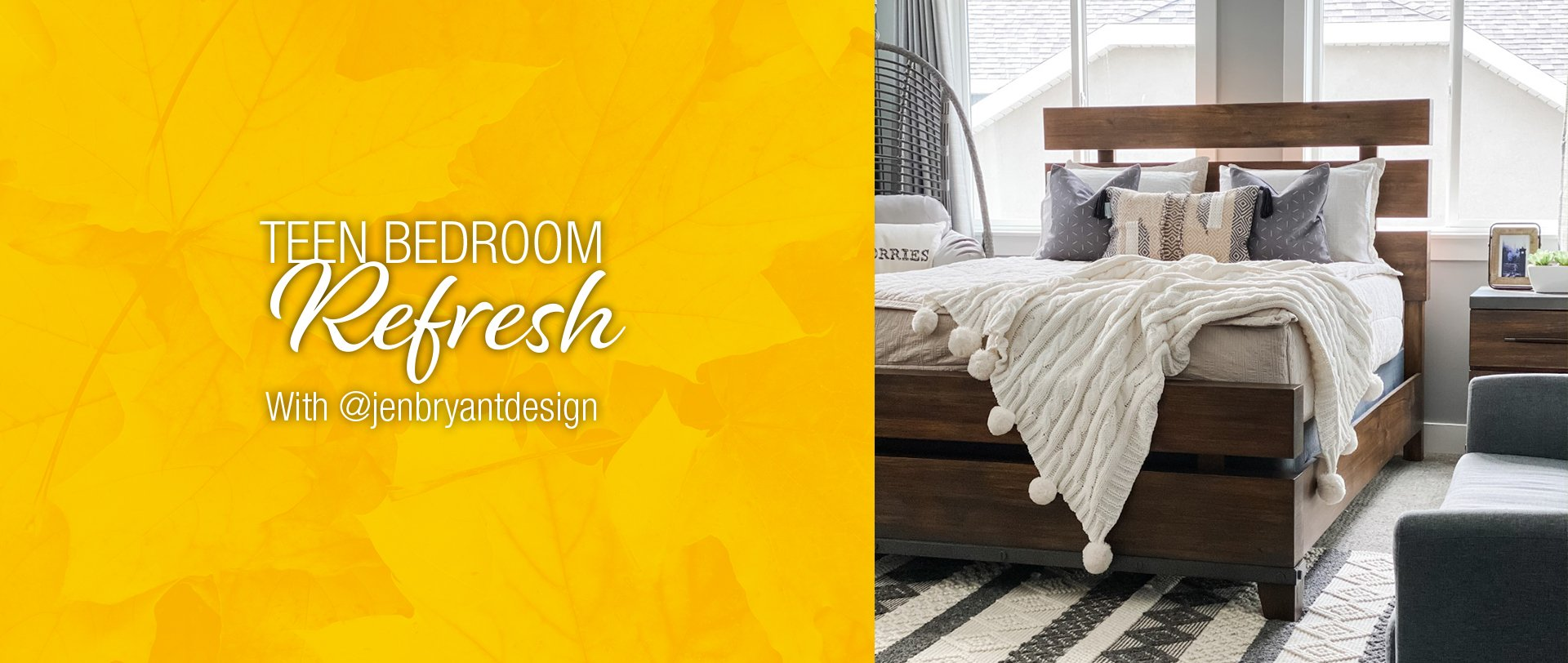 Teen Bedroom Refresh With @jenbryantdesign