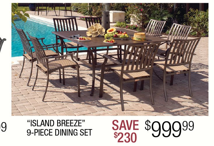 Patio Furniture for Every Bud