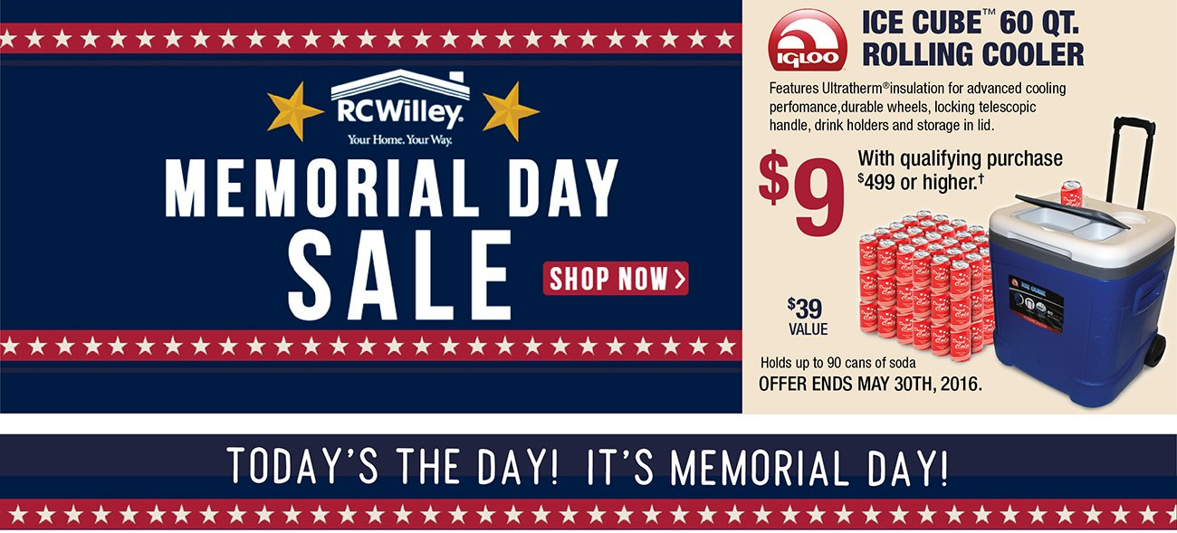 A Memorial Day Sale Like No Other