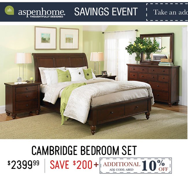 Cambridge Bedroom Set ...