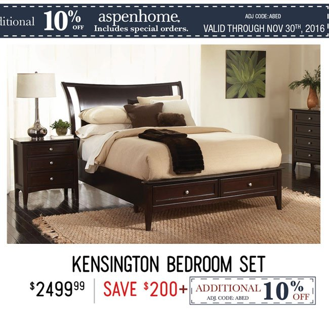 Cambridge Bedroom Set, Kensington Bedroom Sets