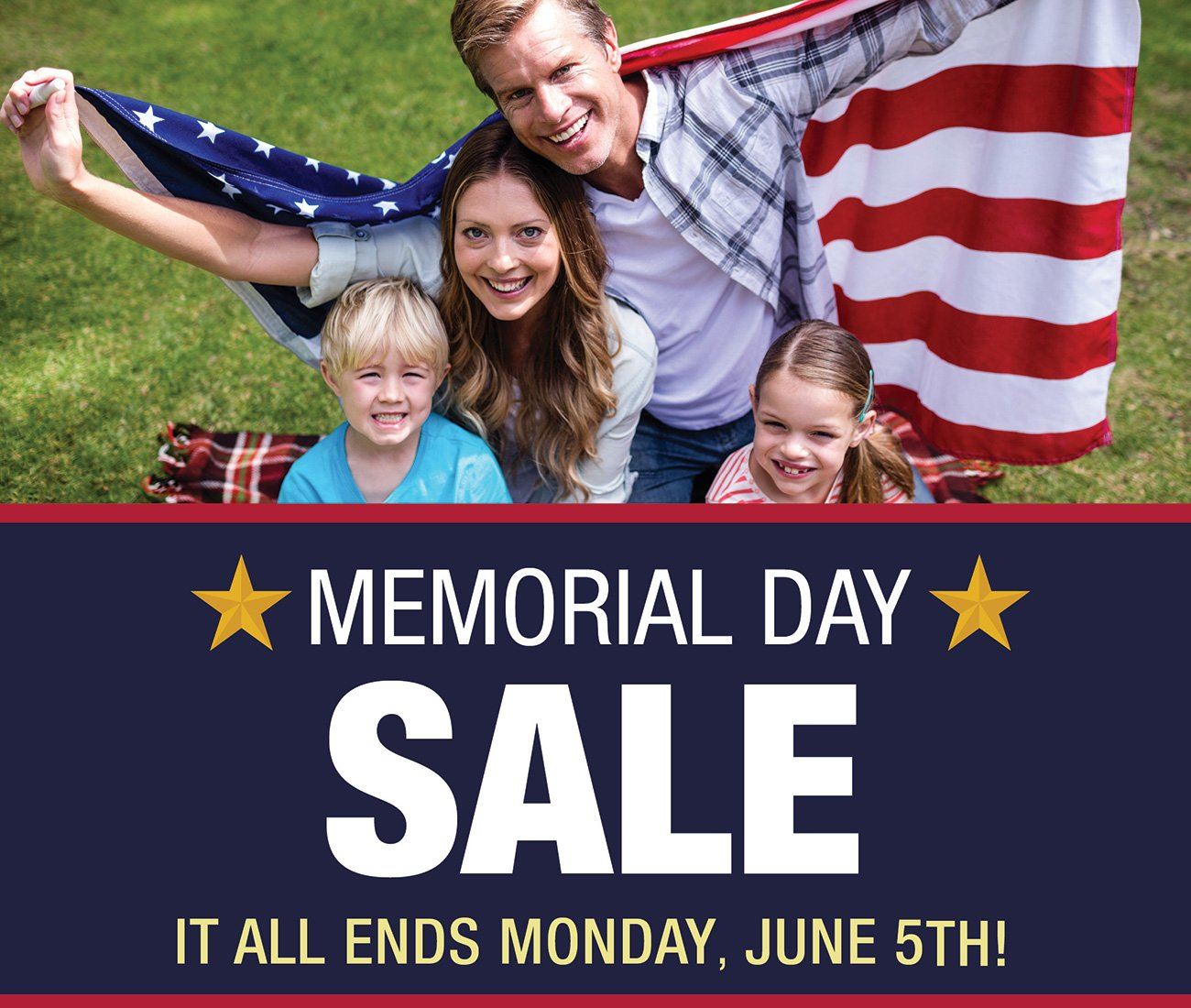 Last Weekend to Save Sale Ends Monday June 5th 🇺🇸