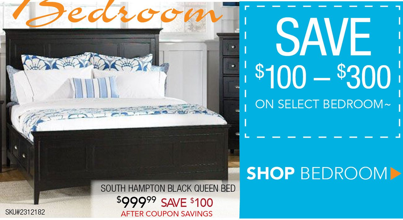 Bedroom store coupons