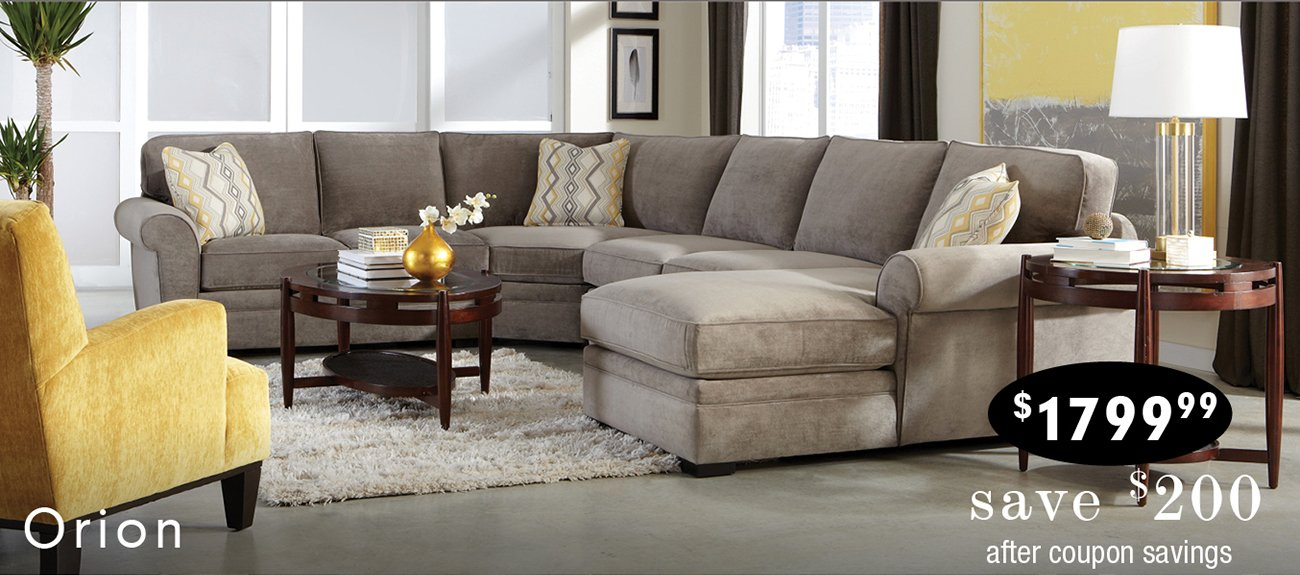 Orion Sectional : rc willey sectional - Sectionals, Sofas & Couches