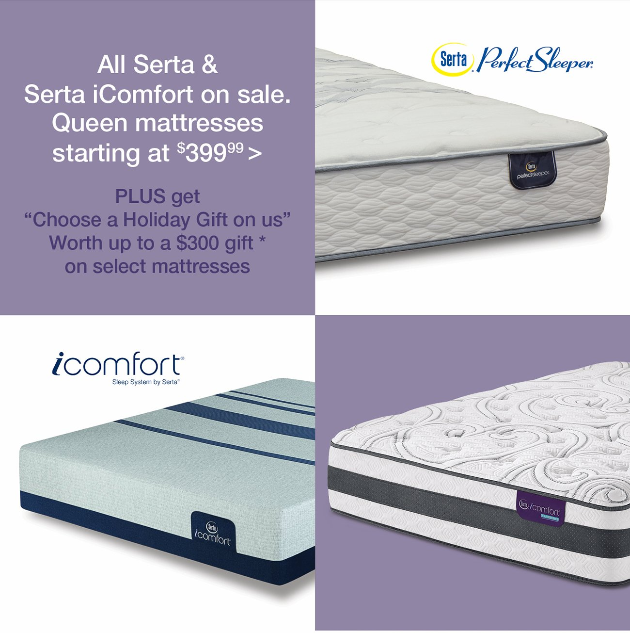 denver queen hybrid sale serta iseries mattress