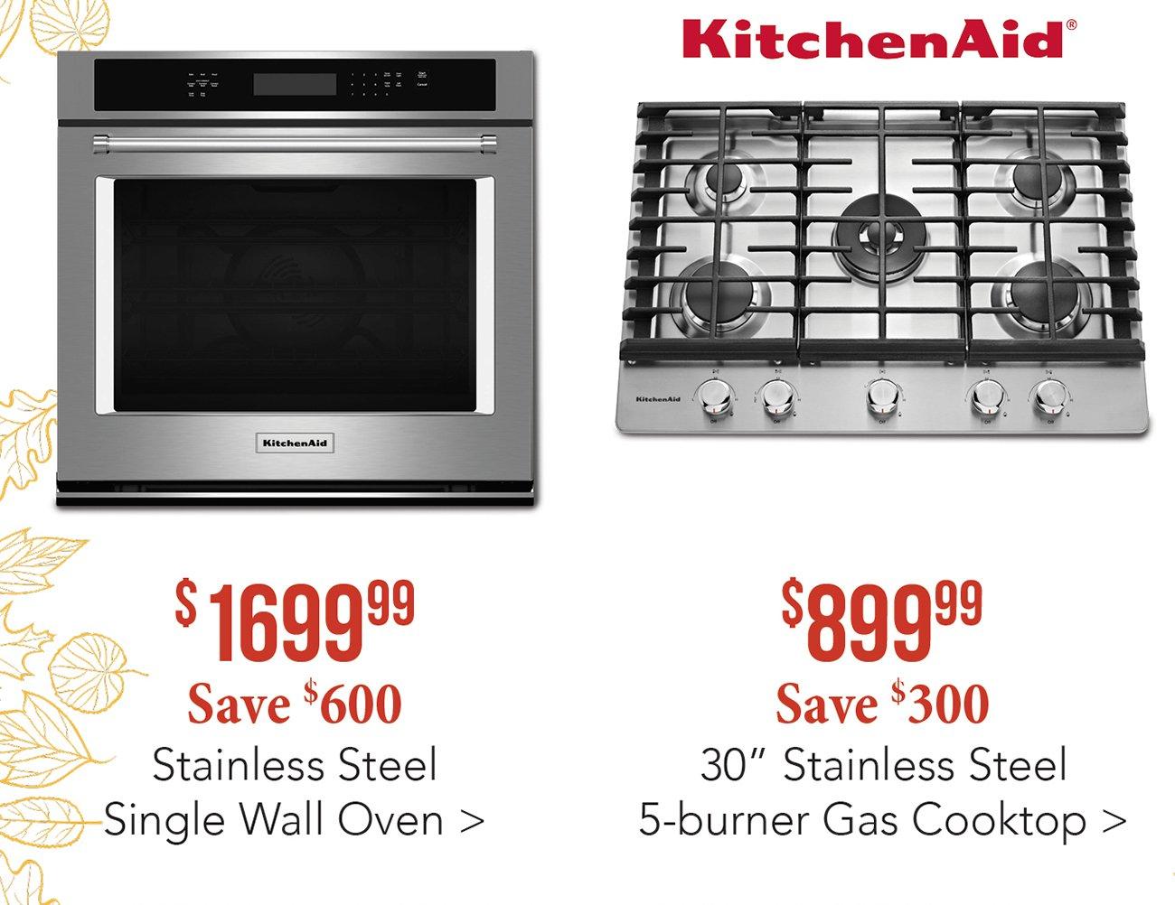 Kitchenaid Wall Oven. Kitchenaid Wall Oven And Cooktop