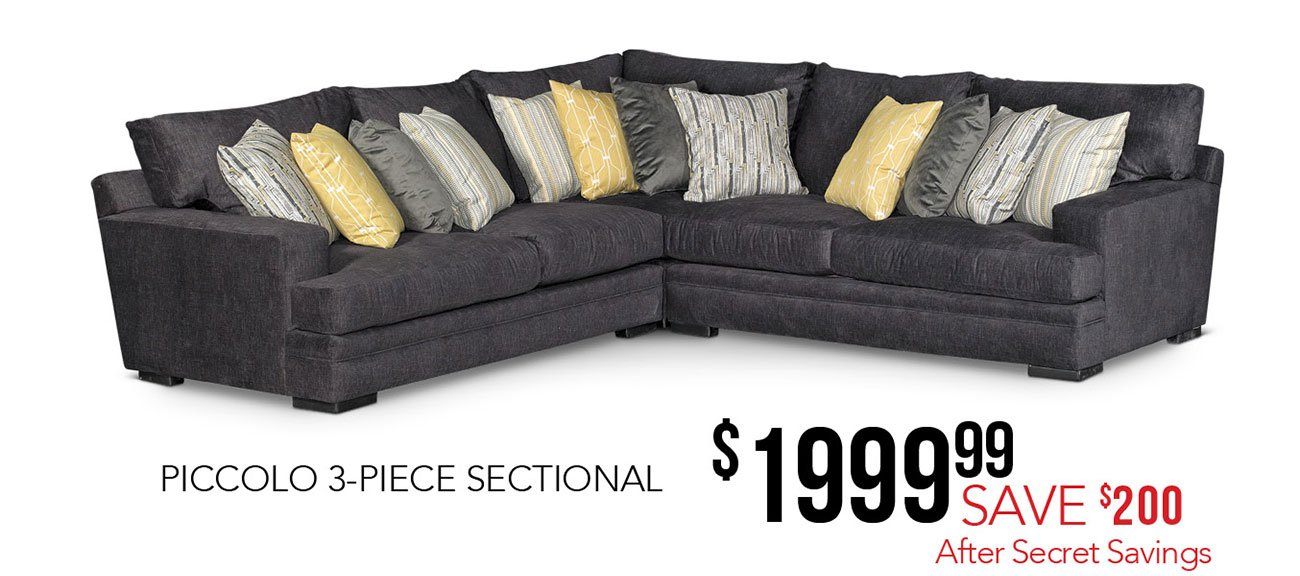 Piccolo-Sectional