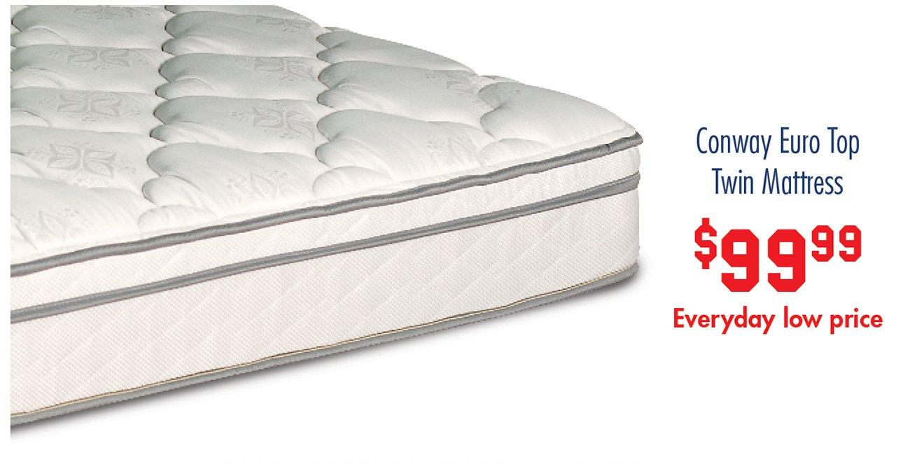 Conway-euro-top-twin-mattress