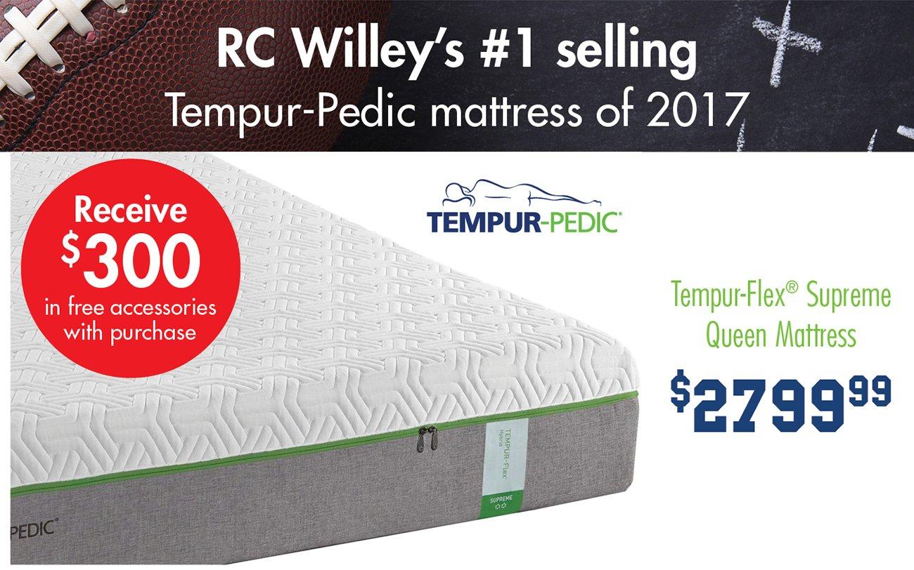 temour-pedic-supreme-queen-mattress