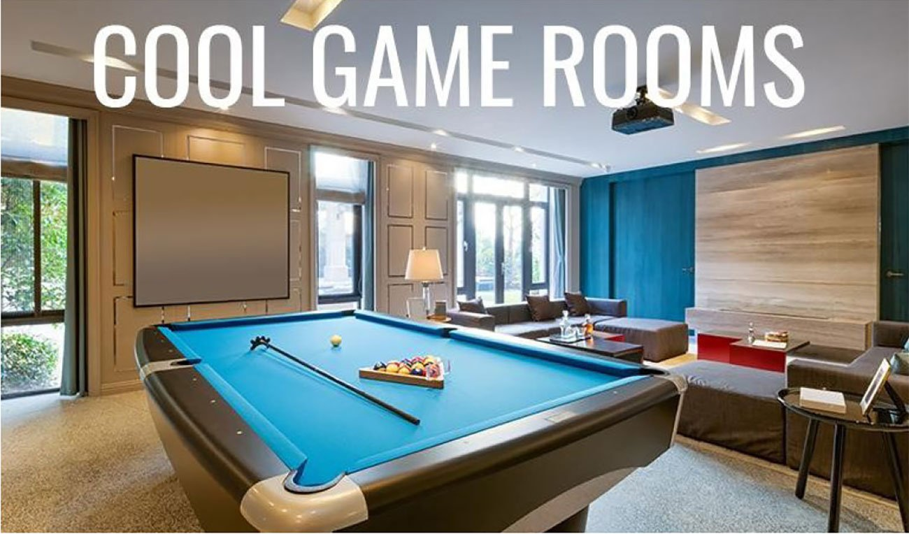 Cool Game Rooms   RC Willey Blog