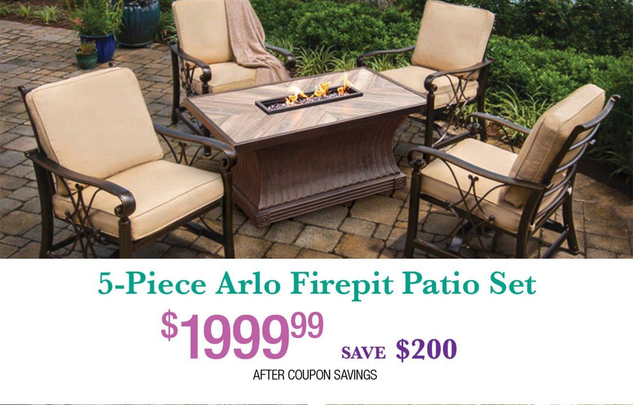 Arlo-Firepit-Patio-Set
