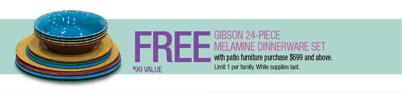 Free-Melamine-Dinnerware-Set