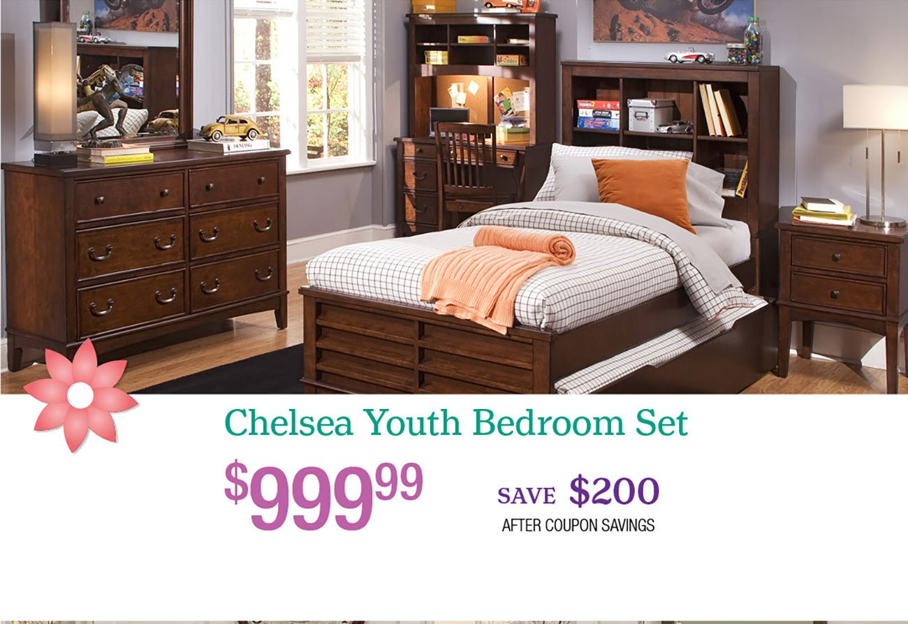 Chelsea-Youth-Bedroom-Set