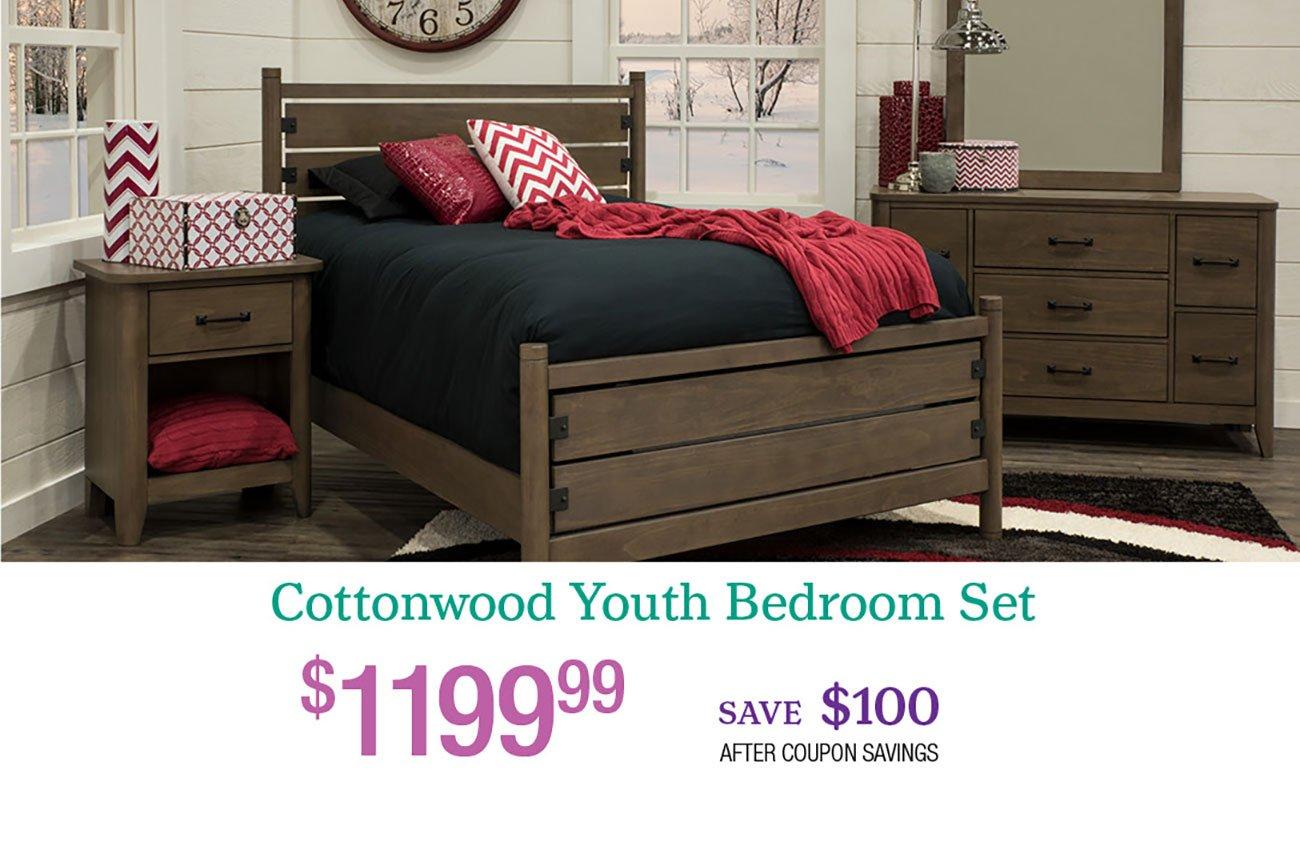 Cottonwood-Youth-Bedroom-Set