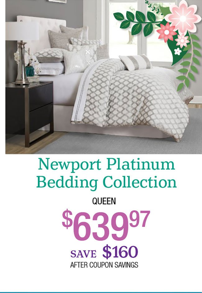 Newport-Platinum-Bedding-Collection