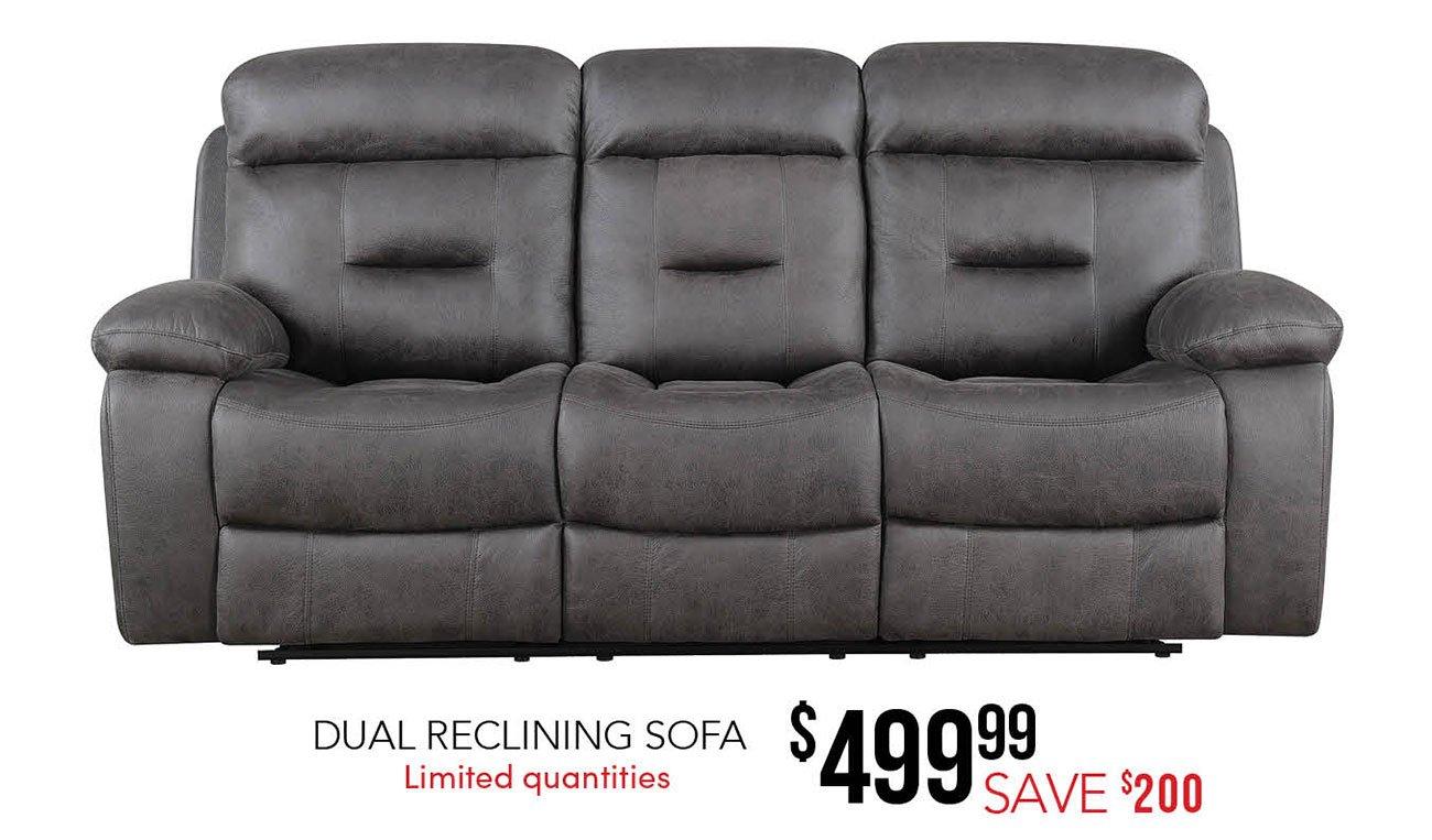Dual-reclining-sofa