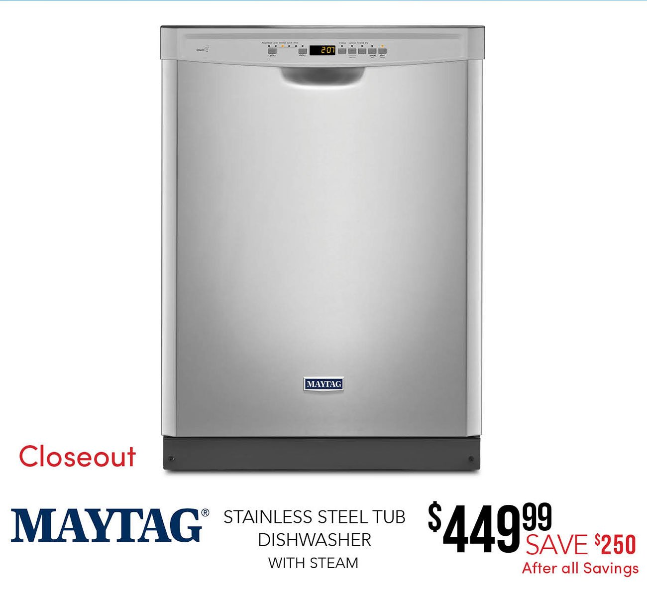 Maytag-Stainless-steel-Dishwasher