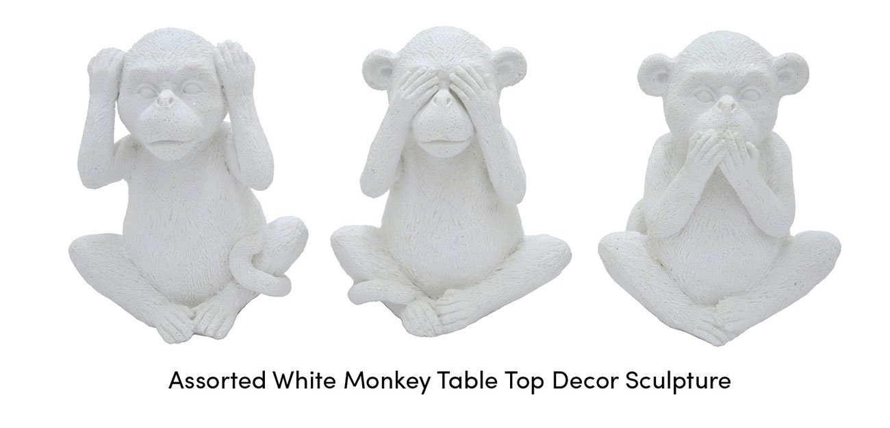 Assorted-monkey-table-top-decor