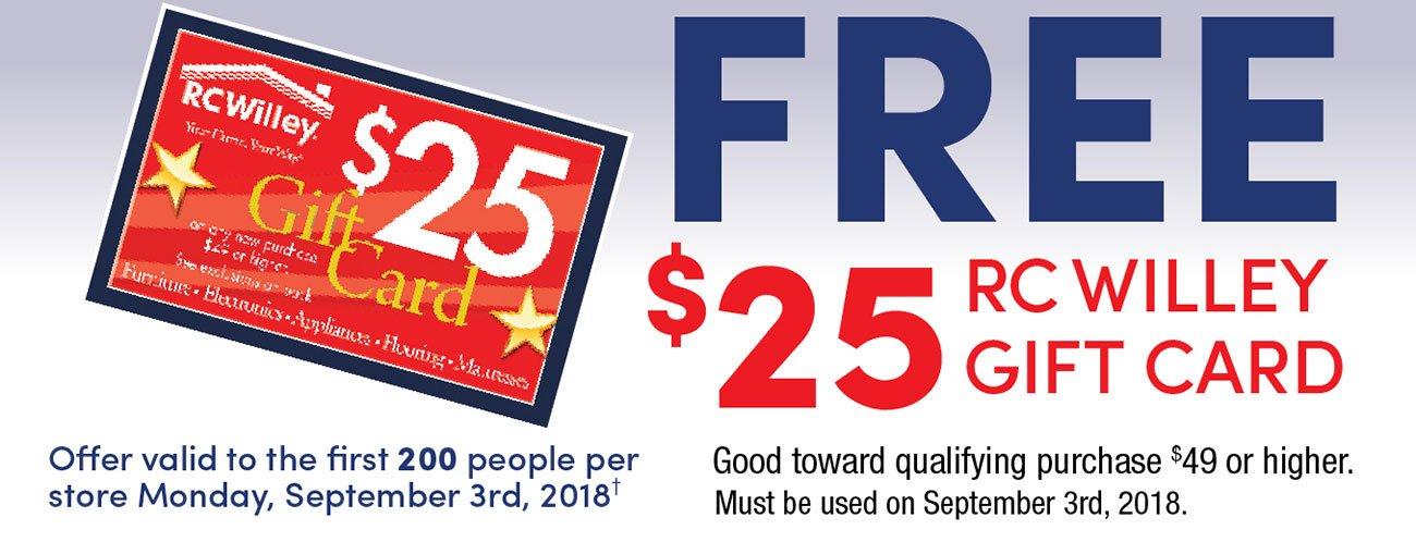 Free 25 Dollar Coupon