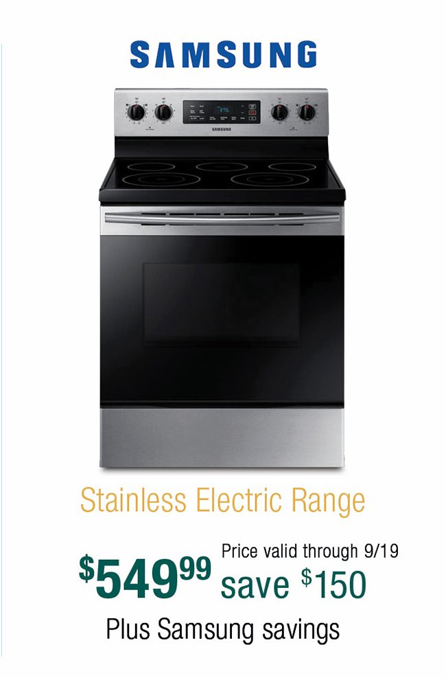 Samsung-stainless-electric-range