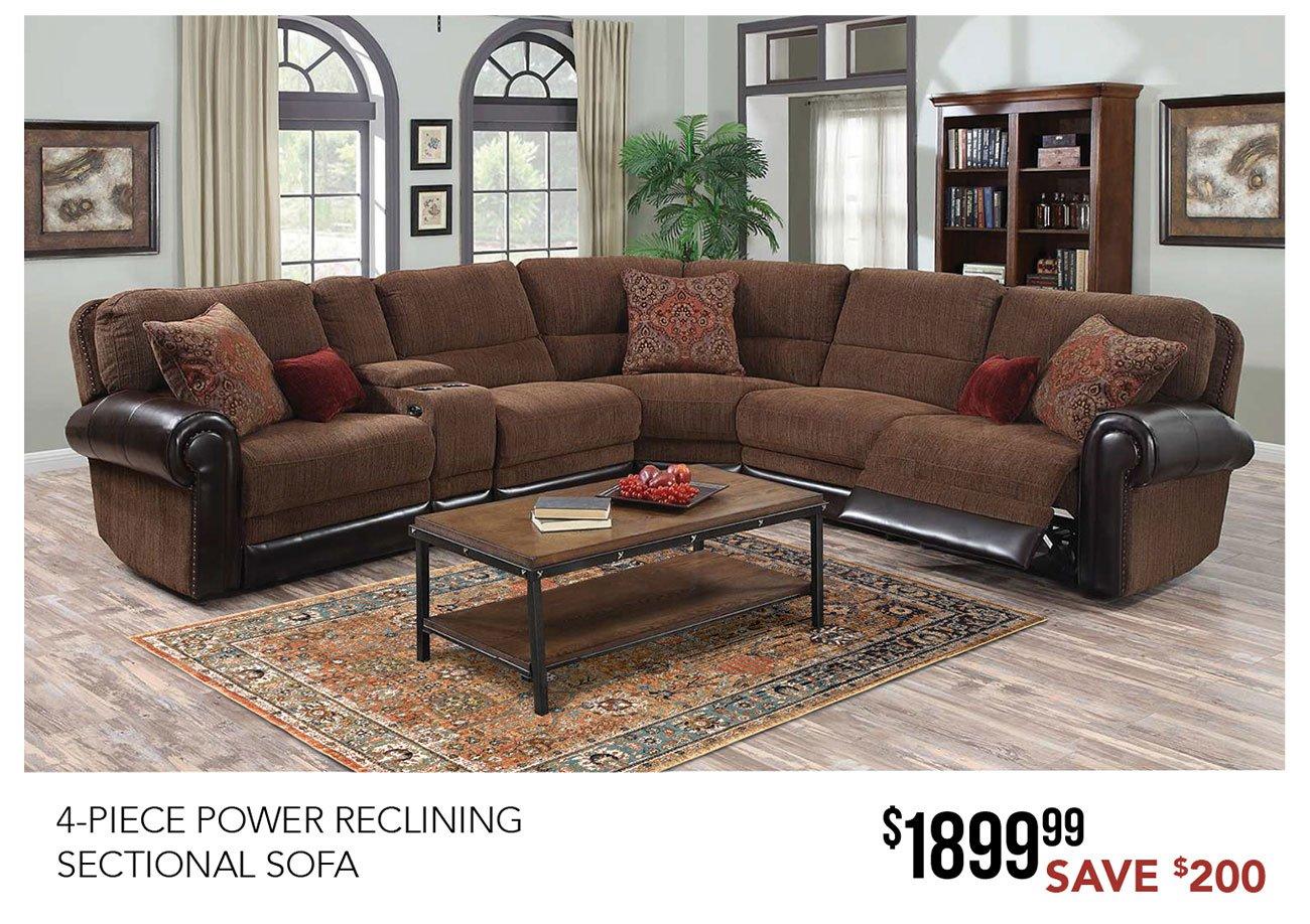 4-piece-power-reclining-sofa