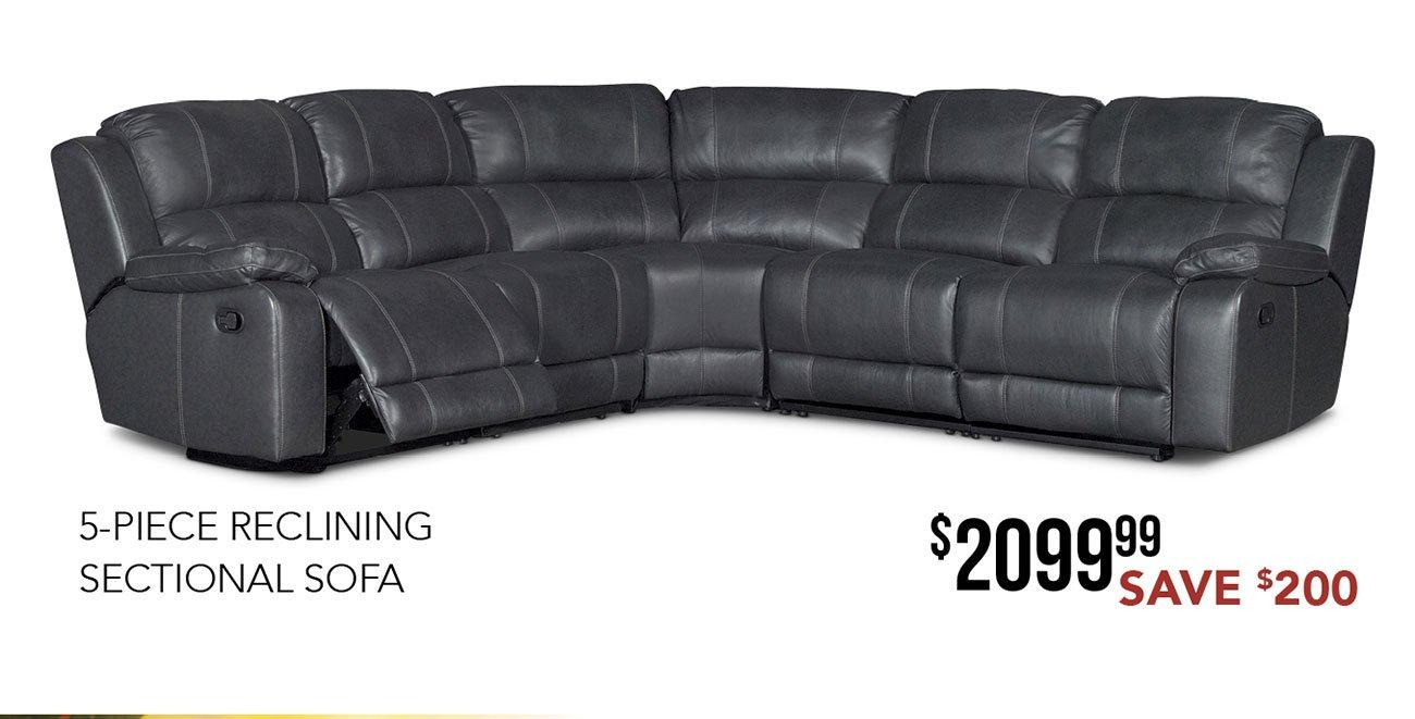 5-piece-reclining-sectional-sofa