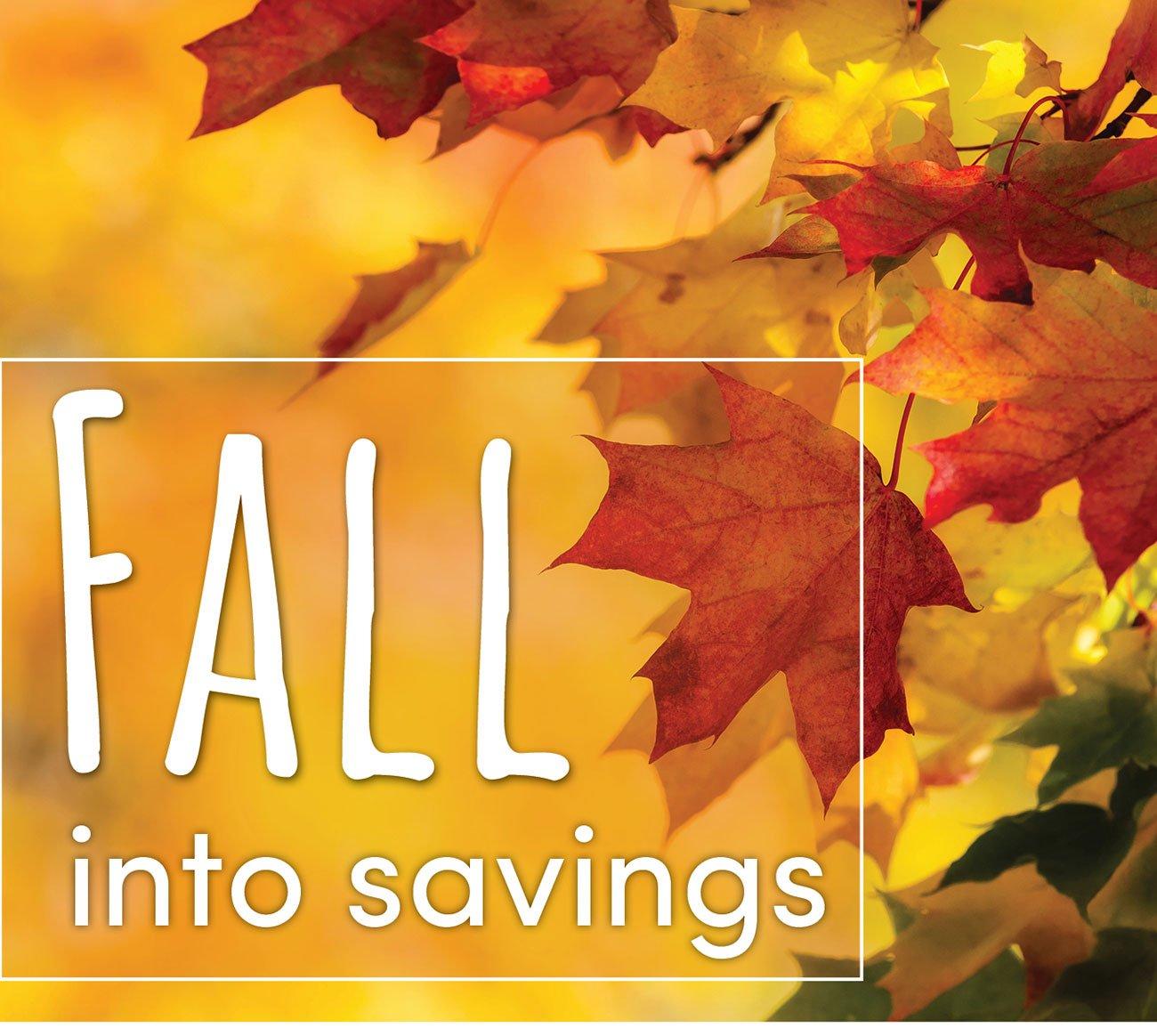 Fall-into-savings