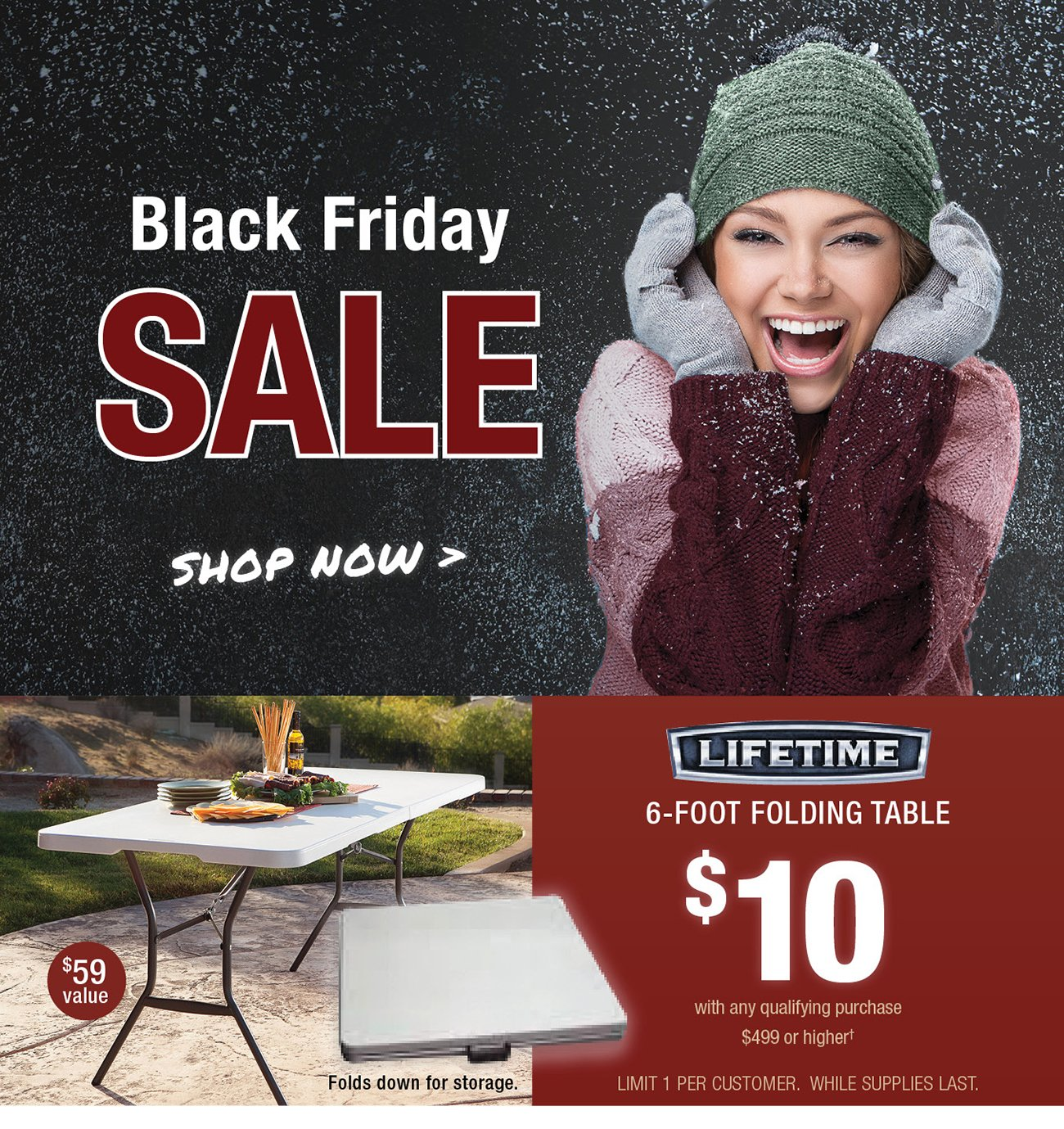 hi   our black friday sale starts now  click here