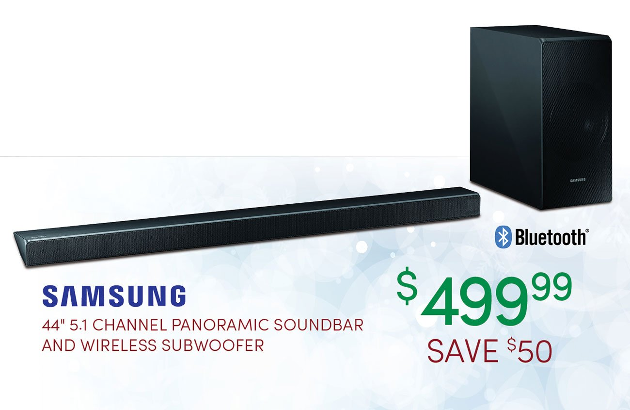 Panoramic-soundbar-and-wireless-subwoofer