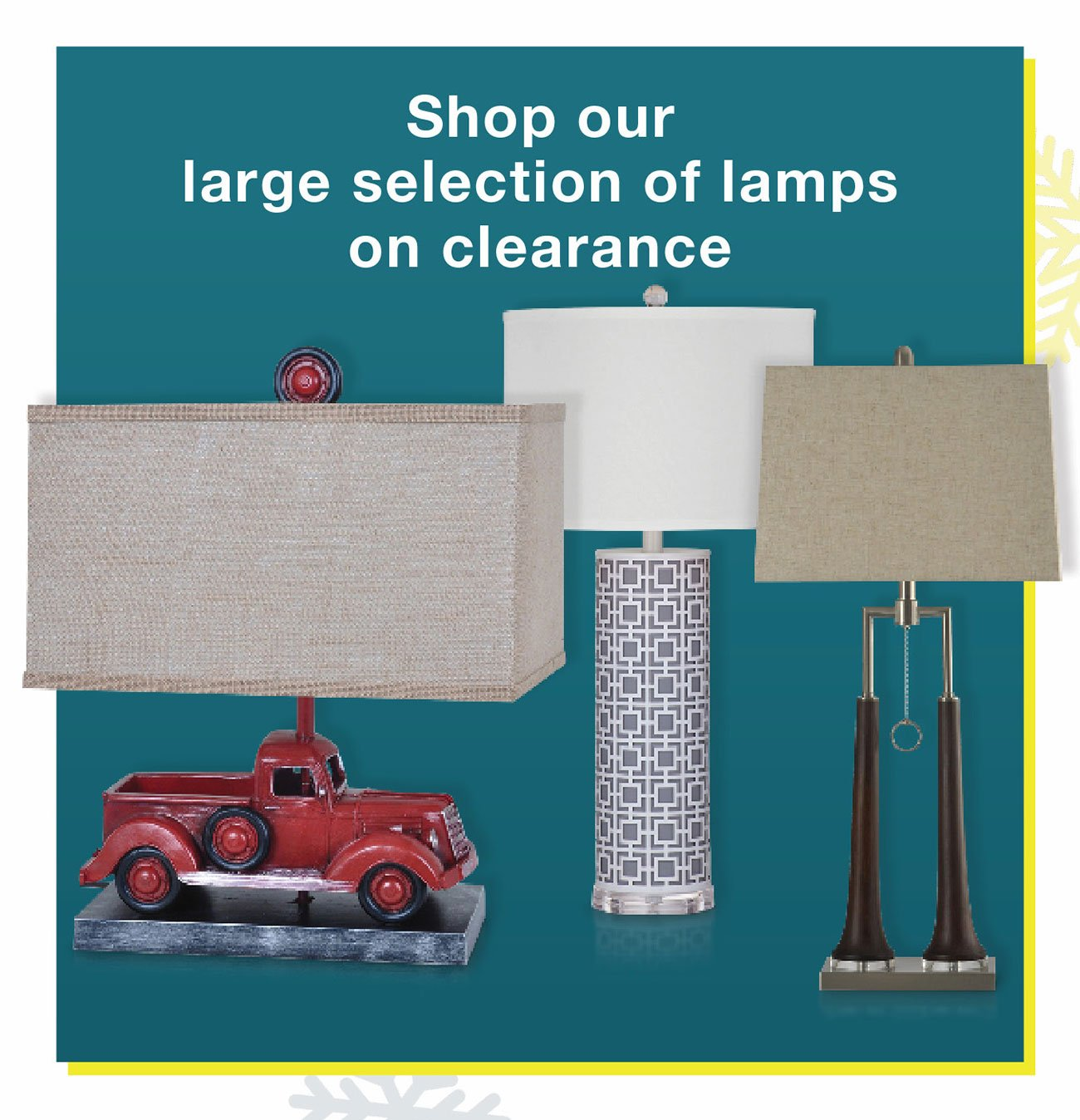Lamps-on-clearance