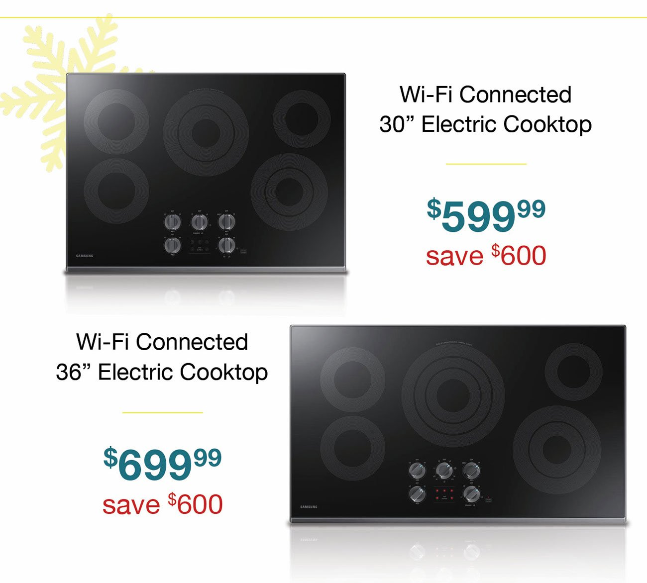 Wi-fi-electric-cooktops
