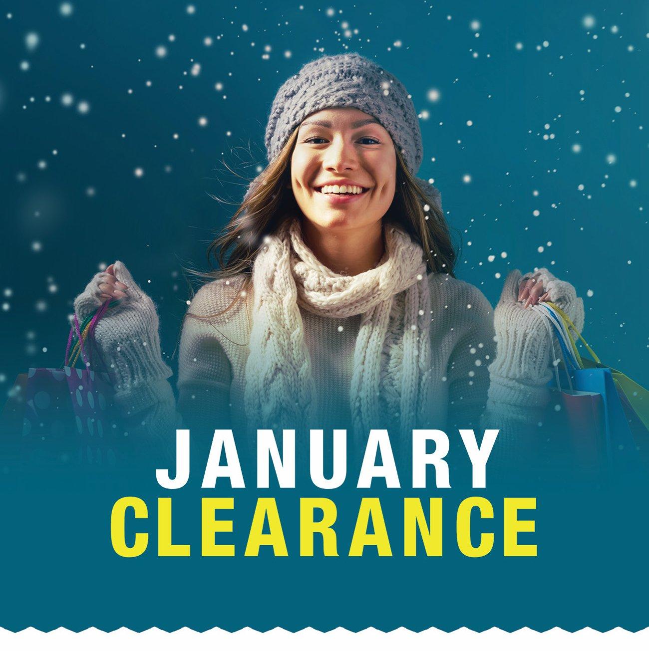January-clearance