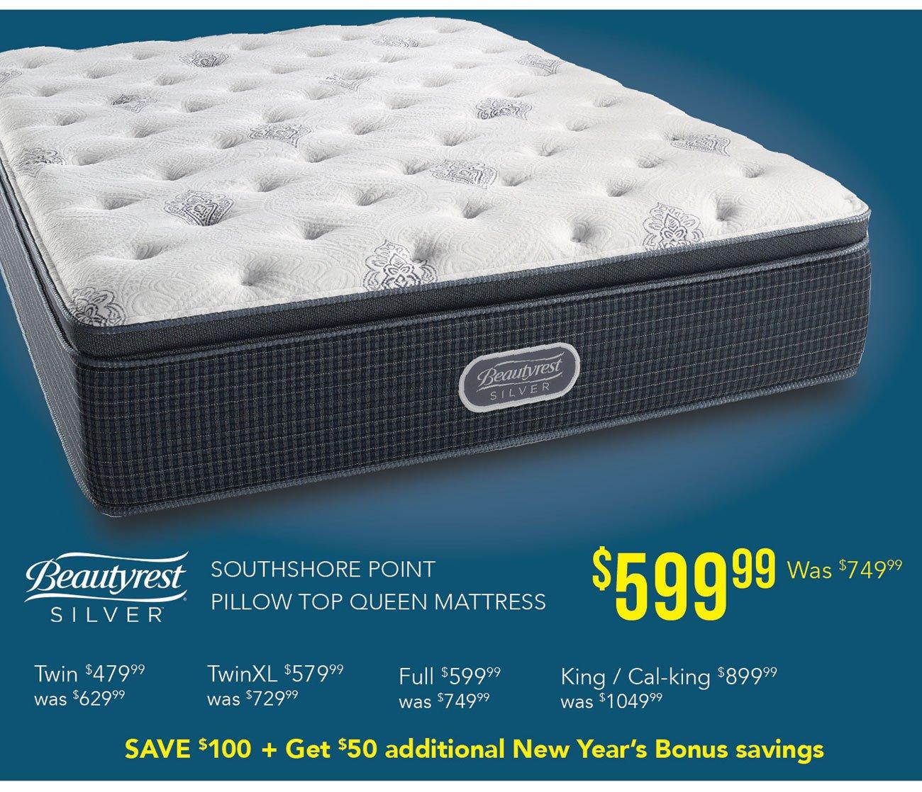 Beautyrest-silver-mattress