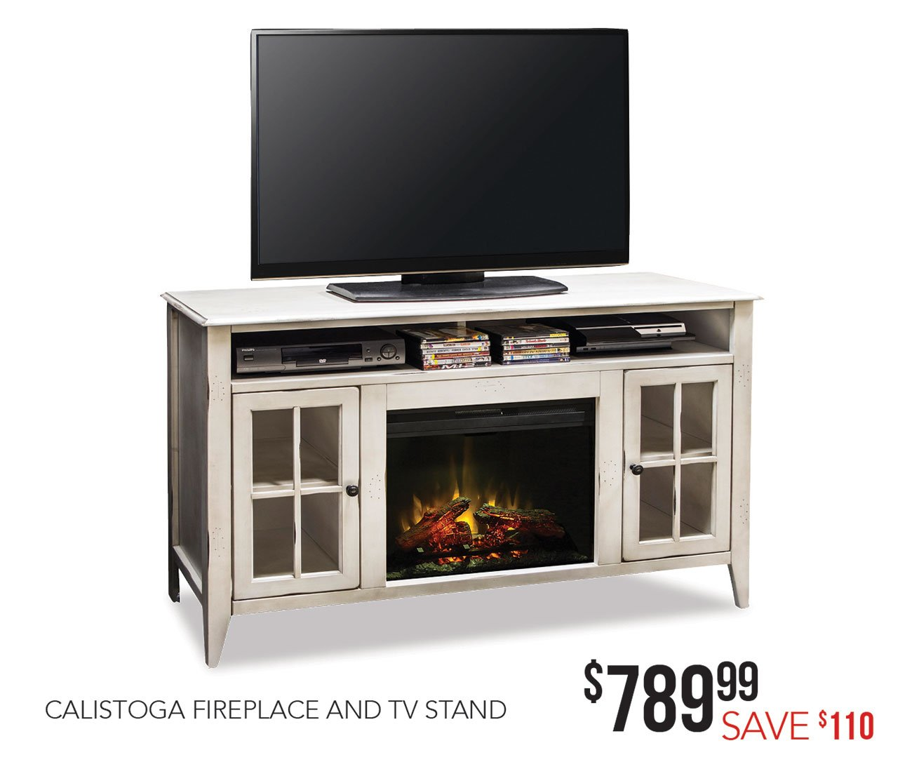 Fireplace-tv-stand
