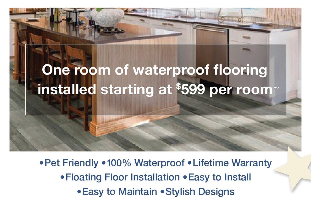 Waterproof-flooring
