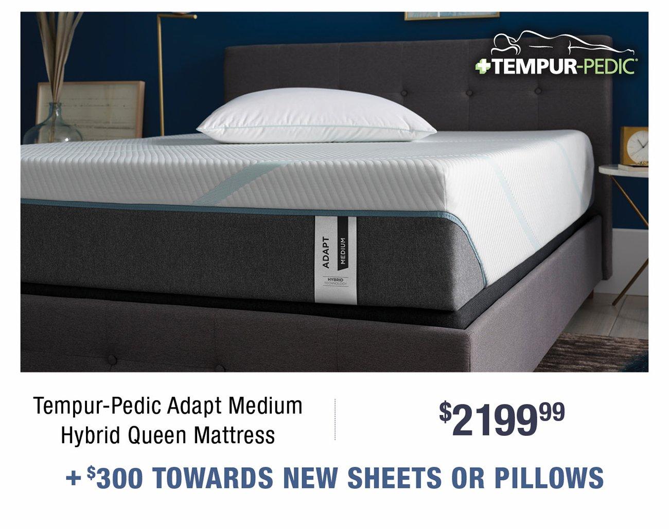 Tempur-pedic-adapt-queen-mattress