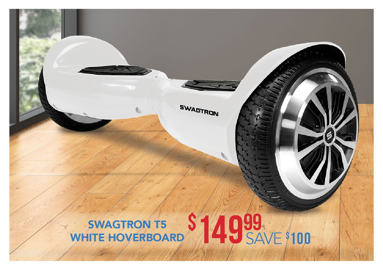 Swagtron-T5-White-hover-board