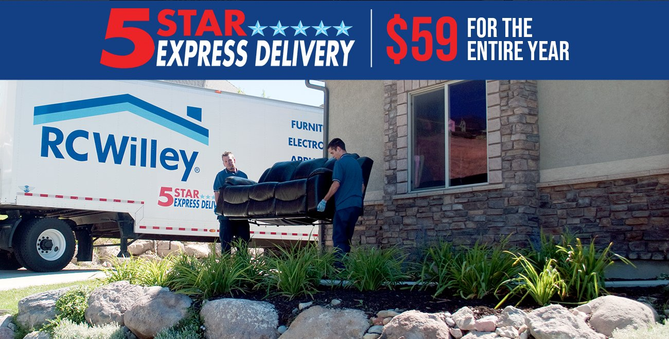 5 Star Express Delivery available. Only $59 for the entire year.