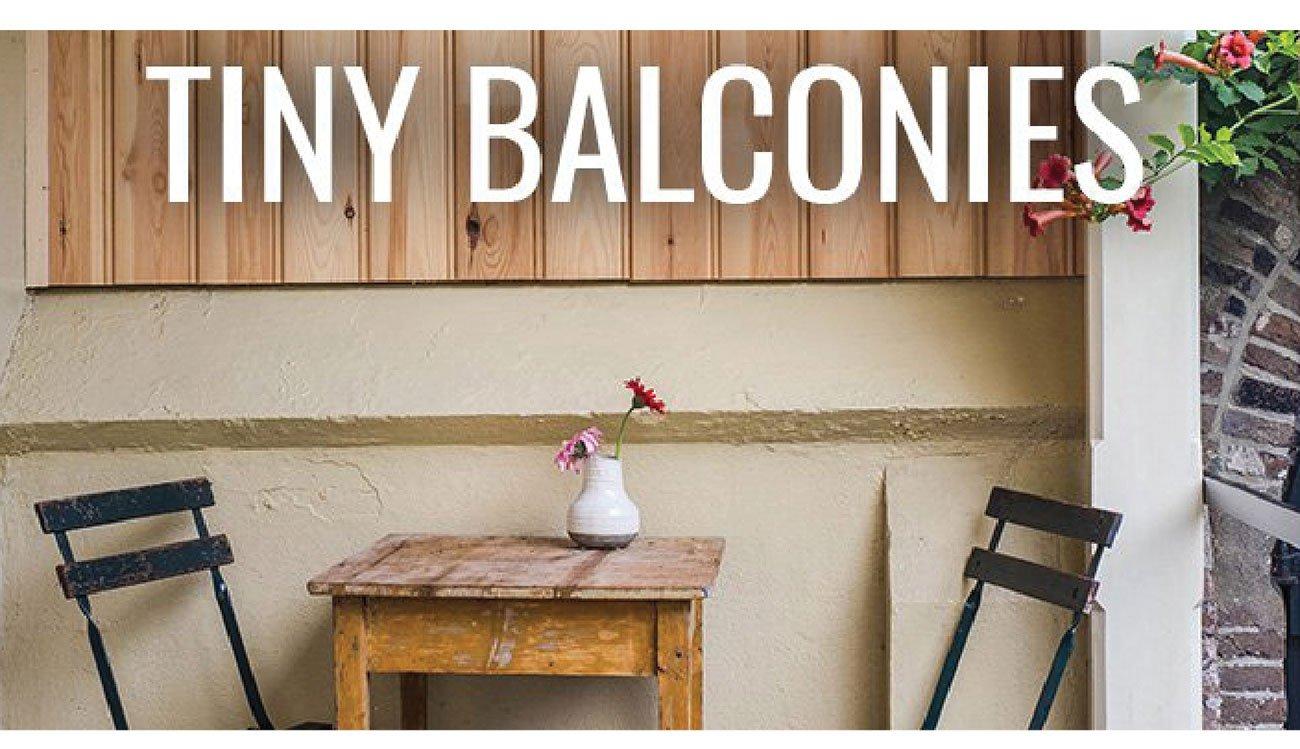 Tiny-balconies