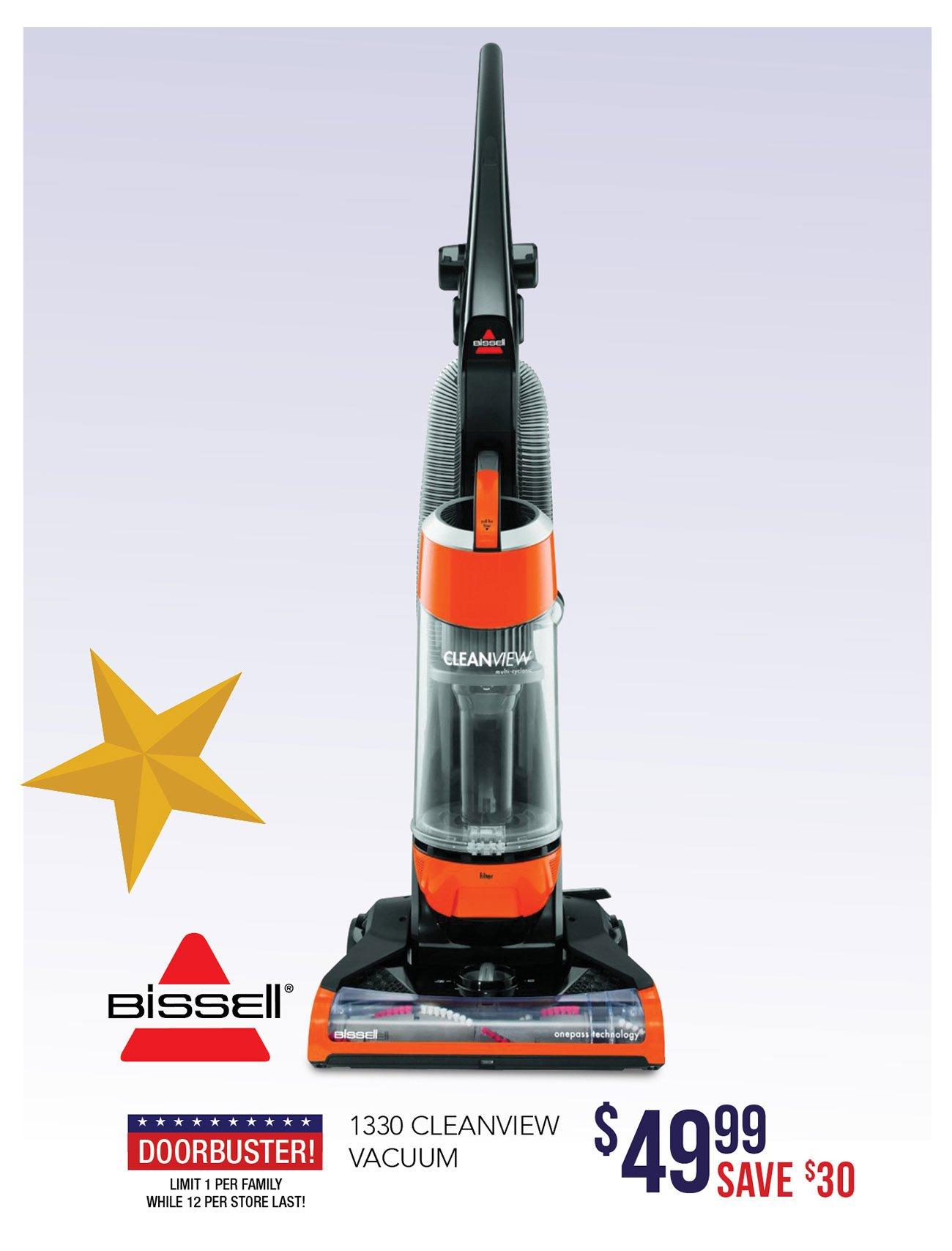 Bissel-vacuum