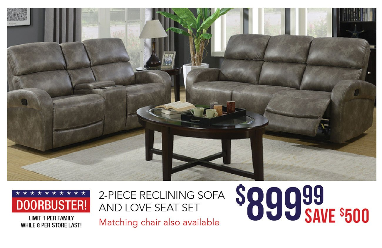 Reclining-sofa-and-love-seat
