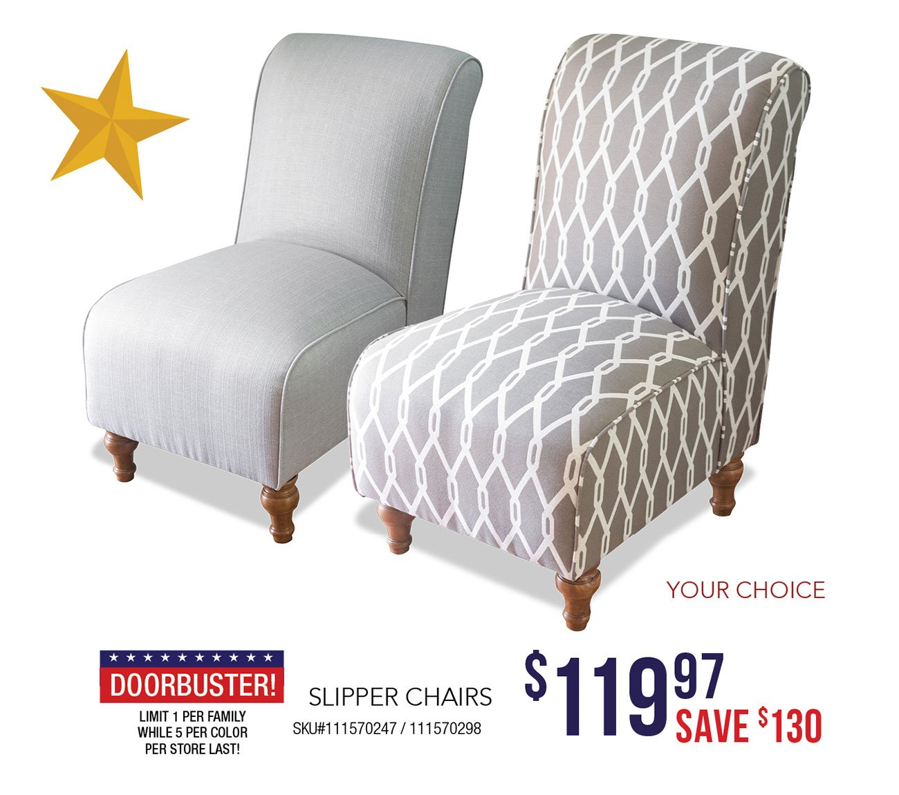 Slipper-chairs