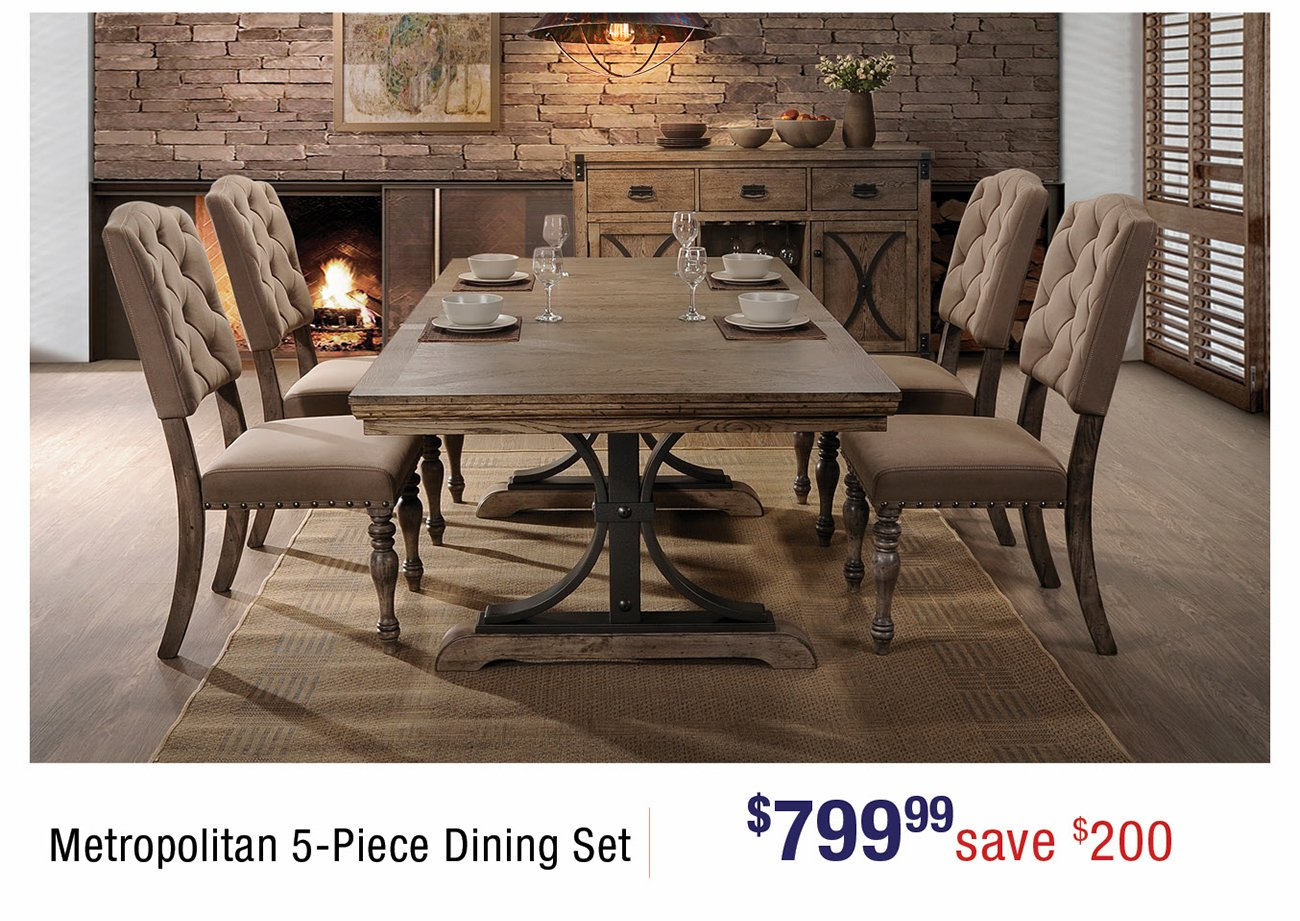 Metropolitan-dining-set