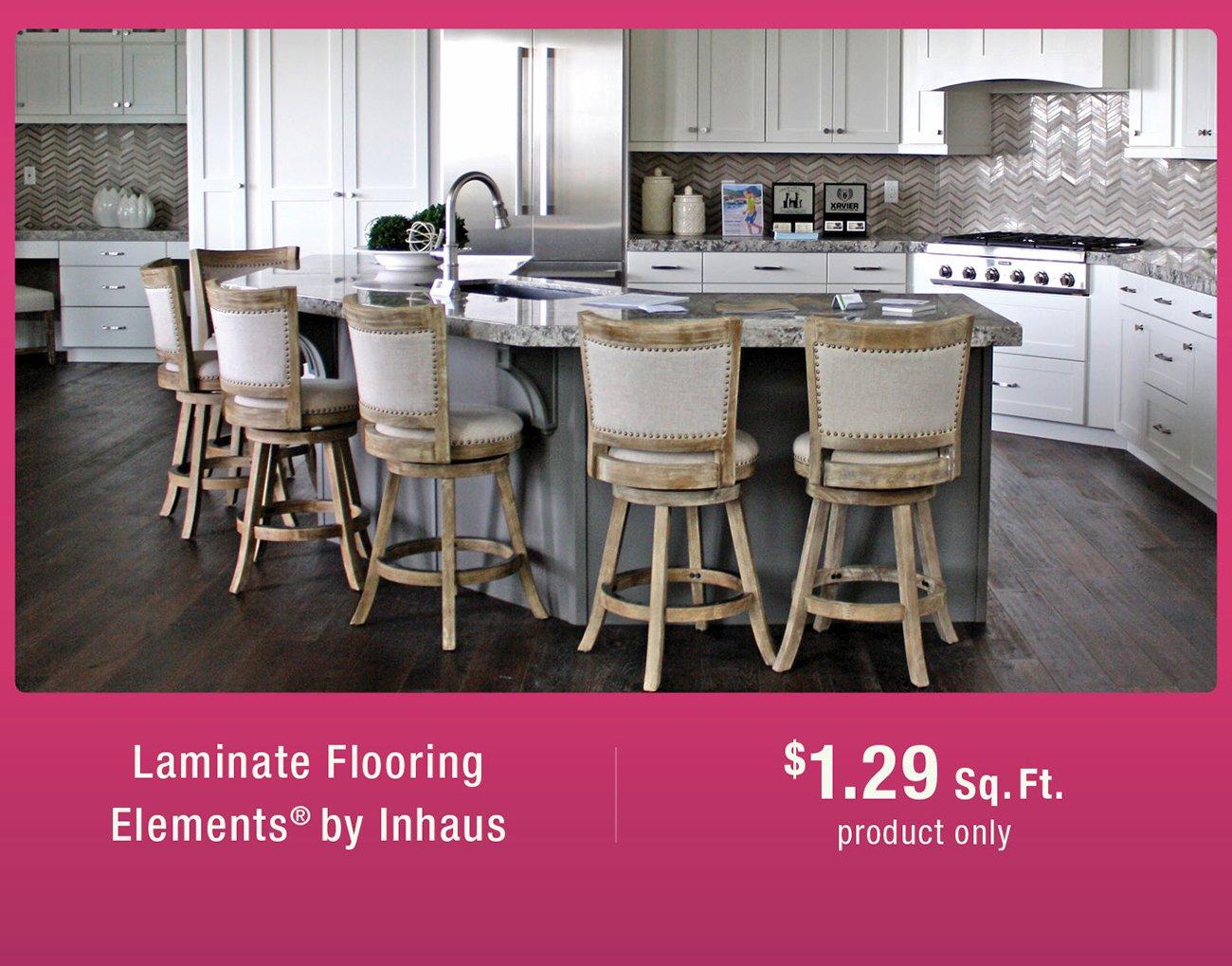 Inhaus laminate flooring