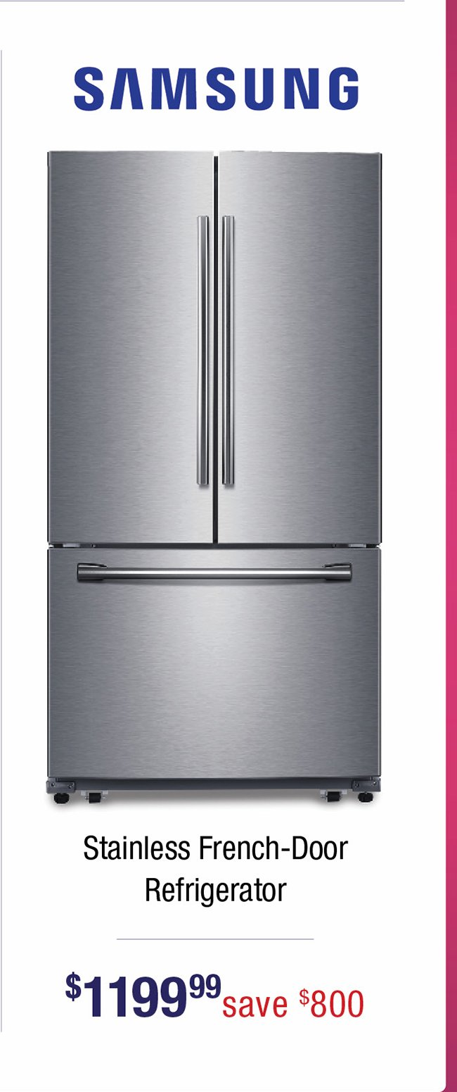 Samsung-stainless-refrigerator