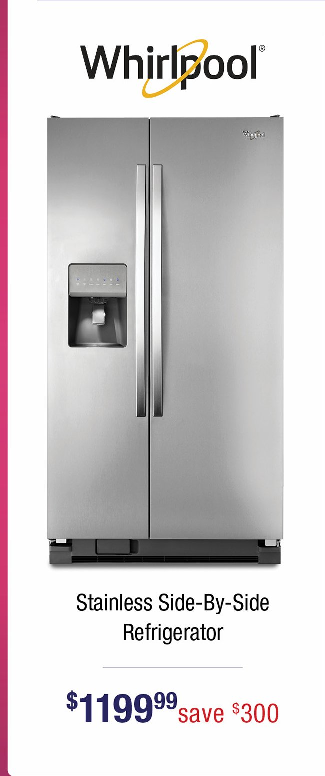 Whirlpoll-stainless-refrigerator