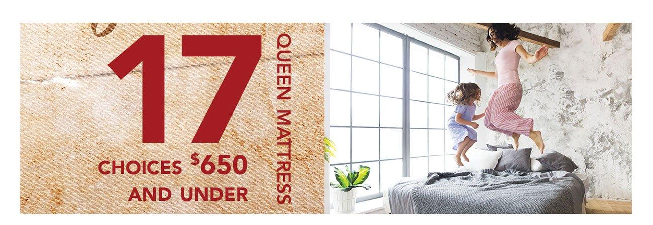 17-queen-mattresses