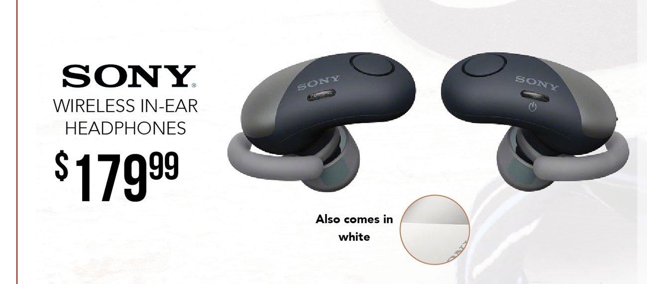Sony-wireless-in-ear-headphones