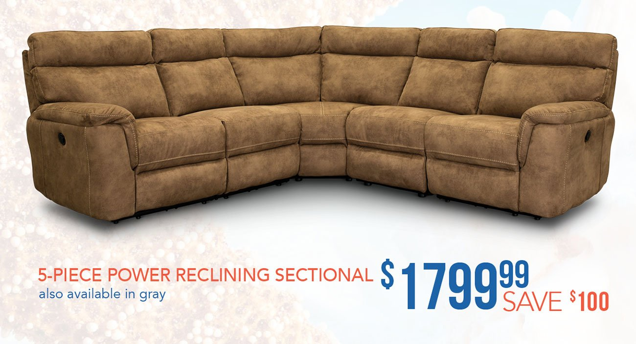 5-piece-reclining-sectional